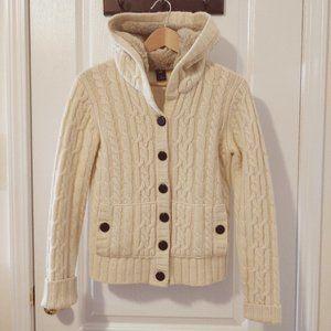 GAP Lambs Wool Knit Sweater Sz M